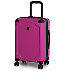 more details on Duralition Hard Shell Corner Protect Suitcase S - Purple.