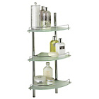 more details on Heart of House Nyla Chrome 3 Shelf Bathroom Shelving Unit.