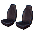 more details on Cosmos Heavy Duty Extra Front Seat Covers x2 - Blue.