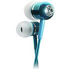 more details on BassBuds In Ear Headphones with MP3 Controller - Blue