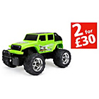 more details on New Bright RC Charger Jeep 1:18.