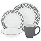 more details on Corelle Urban Grid 16 Pice Dinner Set.