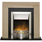 more details on Dimplex Marbello Electric Fire Suite - Marble Effect