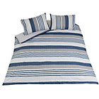 more details on Heart of House Lincoln Dyed Woven Bedding Set - Kingsize.