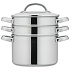 more details on Prestige 24cm Stainless Steel 2 Tier Multi-Steamer.