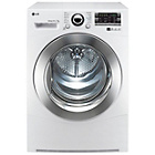 more details on LG RC7066A2Z 7KG Condenser Tumble Dryer - White.