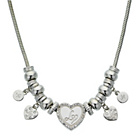 more details on Lipsy Silver Heart Charm Necklace.