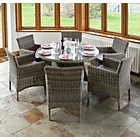 more details on Richmond Rattan Garden Dining Set.