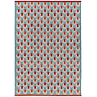 more details on Habitat Octo Multicoloured Flat Weave Rug - 120x180cm.