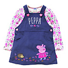 more details on Peppa Pig Girls' Top, Dress and Tights Set.