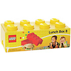 more details on Lego 8 Brick Lunch Box - Yellow.