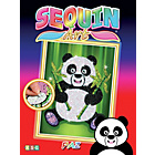 more details on Sequin Art Panda - Red.