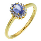 more details on 18ct Gold Plated Sterling Silver Diamond Ring.