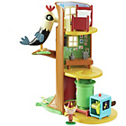more details on Ben and Holly Elf Tree Playset
