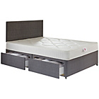 more details on Airsprung Parnell Comfort Double 4 Drw Divan Bed.