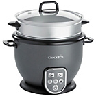 more details on Crock-Pot CRC029 1.8L Rice Cooker - Grey.