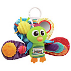 more details on Tomy Lamaze Jacques the Peacock.