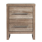 more details on Washington 3 Drawer Bedside Chest - Smokey Oak.