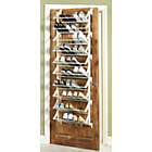 more details on HOME 10 Tier Over the Door Shoe Rack - White.