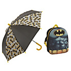 more details on Batman Backpack and Umbrella.