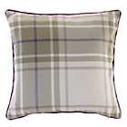more details on Heart of House Angus Check Cushion - Soft Green.