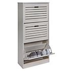 more details on HOME Hereford Shoe Cabinet - White.