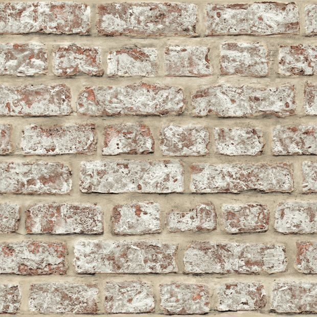 Buy arthouse rustic brick wallpaper at your for Wallpaper rolls clearance