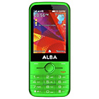 "more details on Alba Sim Free 2.8"" Mobile Phone - Green."