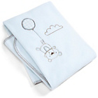 more details on Mamas & Papas Night Time Hugs Fleece Blanket - Blue.