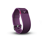 more details on Fitbit Charge HR Large Heart Rate Monitor Wristband - Plum.