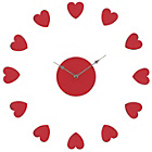 more details on Premier Housewares Red Heart Wall Clock.