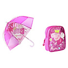 more details on Peppa Pig Backpack and Umbrella - Pink.