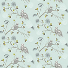 more details on Arthouse Night Owl Duck Egg Blue Wallpaper.