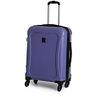 more details on Duralition 4 Wheel Hard Shell Suitcase S - Blue.