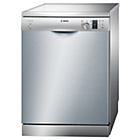 more details on Bosch SMS50C18UK  Full Size Dishwasher - Silver/Exp.Del.