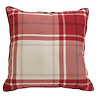 more details on Heart of House Angus Check Cushion - Red.