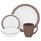 more details on Corelle Sand Sketch 16 Piece Dinner Set.