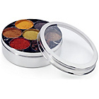 more details on 20cm Stainless Steel Spice Box Clear Lid.