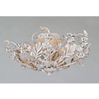 more details on Florence Crystal Light Fitting - Antique White.