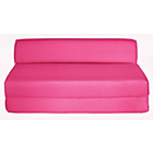 more details on ColourMatch Double Fabric Chairbed - Funky Fuchsia.