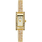 more details on Accurist Ladies Gold Plated Stone Set Bracelet Watch