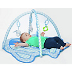 more details on Chad Valley Baby Deluxe Play Gym Blue Puppy.
