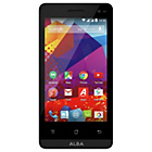 "more details on Sim Free Alba 4"" Black Mobile Phone."