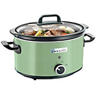 more details on Crock-Pot 3.5L Thyme Slow Cooker - Green.