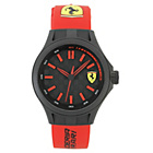 more details on Scuderia Ferrari Mens' Pit Crew Red Strap Watch.