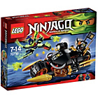 more details on LEGO Ninjago Blaster Bike - 70733.