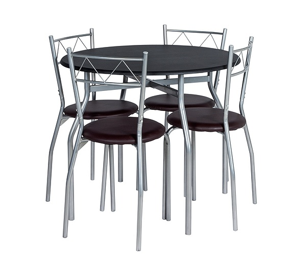 Argos Kitchen Bar Table And Chairs: Buy Oslo Circular Dining Table And 4 Chairs