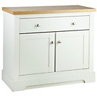 more details on Heart of House Westbury 2 Door Small Sideboard - White.
