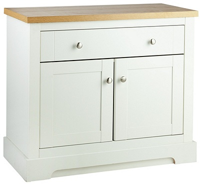 Buy Heart Of House Westbury 2 Door 1 Drawer Sideboard