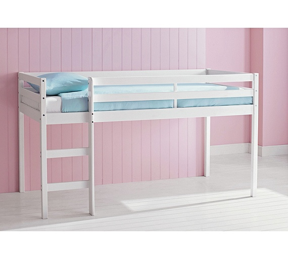 Buy HOME Wooden Mid Sleeper Shorty Bed Frame